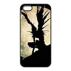 Death Note iPhone5s Cell Phone Case Black TPU Phone Case SY_816359