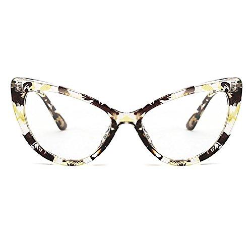 De Moda Eyewear Ojos Style Bmeigo Lens de Vintage Gafas gato C10 Gradient Gafas Retro para Sol Mujer Sunglasses U7xn1SadqS