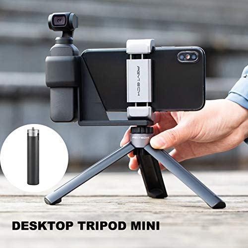 Clothful  PGYTECH Mini Desktop Tripod Holder Bracket Mount for DJI OSMO Pocket Handheld