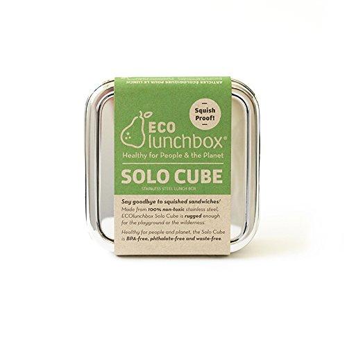 Metal Sandwich - ECOlunchbox Solo Cube