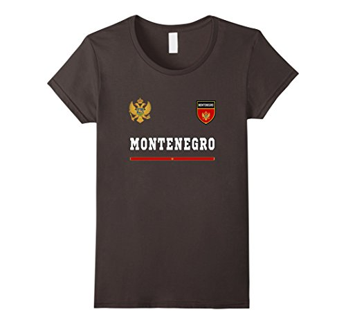 Womens Montenegro Soccer T-Shirt Retro Football Jersey Tee Sport Medium - Retro Football Shirts Shirt
