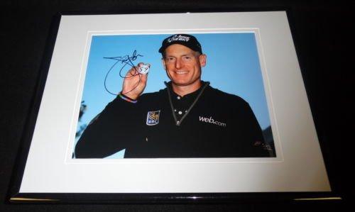 Jim Furyk Signed Framed 8x10 Photo C - Jim Furyk Framed