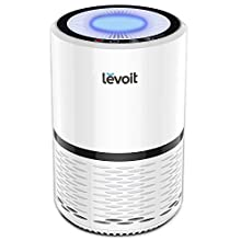 Levoit LifeStyle Love fresh air? Bring it inside—whether in your living room, atop a small nightstand, or right next to you at your work, let the LEVOIT LV-H132 Air Purifier do its work. Choose from low, medium, or high fan speed settings. Th...