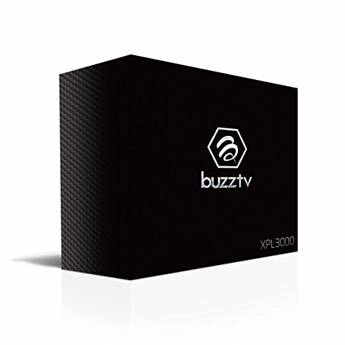 BuzzTV XPL3000 Quad Core Android TV Box and Premium Streaming Media Player Powered by 6 Marshmallow 2018 Edition (Gold/black) ( USA seller)