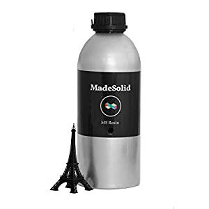MadeSolid MS Resin V2 for SLA and DLP 3D Printers, 1 L from MadeSolid