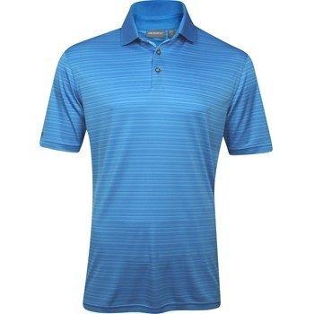 Ashworth Knit Shirt (ASHWORTH EZ-TEC2 PERFORMANCE SHADOW STRIPE ICEBERG)