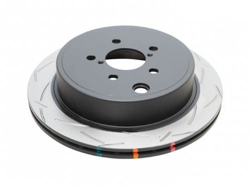 4000 Series Rear Rotors - DBA (42663S) 4000 Series T-Slot Disc Brake Rotor, Rear
