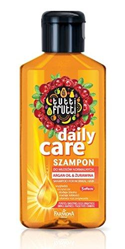 Pelo Ropa Tutti Frutti Cranberry & Argan Champú aceite 100 ml, Características: Eliminar,