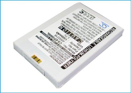 vintrons (TM) Bundle - 1300mAh Replacement Battery For BLUEMEDIA PDA BM-6280, P300B, + vintrons Coaster