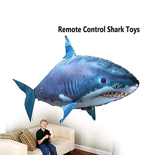 STYLOWY Air Swimmers Remote Control Flying Shark Infrared RC Flying Balloons Kids Gifts Party Decoration