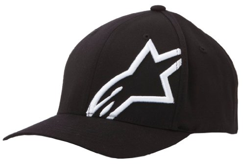 Alpinestars Corp Shift 2 Flexfit Hat Black White Large/X-Large