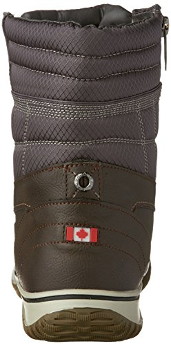 Women's Dk Grey Brown Snow Boots Lilie Pajar Canada awq4zF7