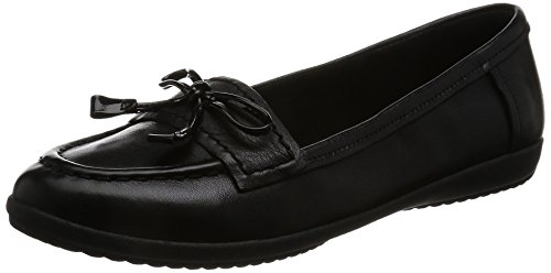 Clarks Feya Bloom - Black Leather