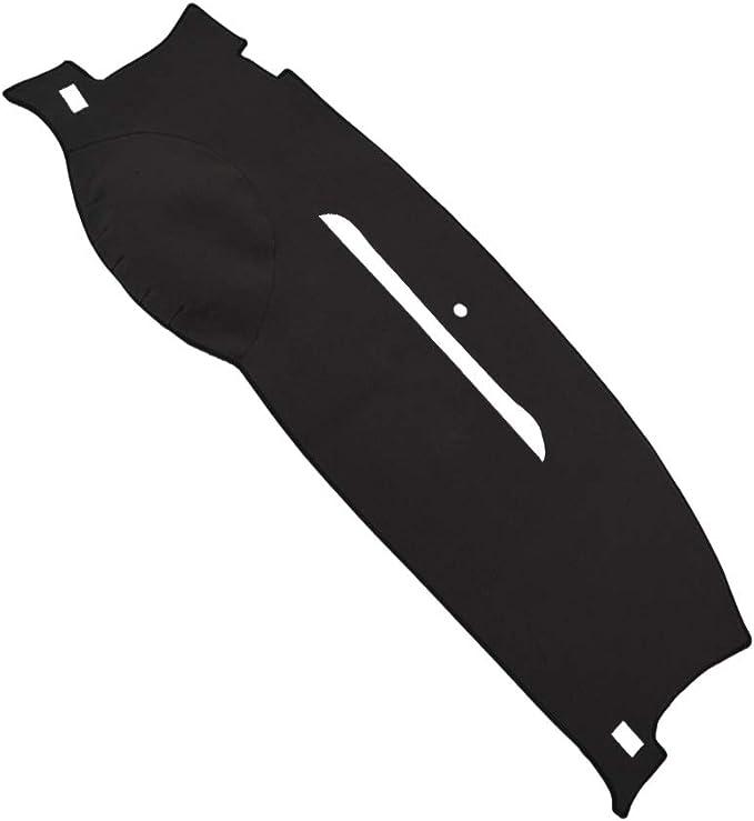 Black MR-077 JIAKANUO Auto Car Dashboard Carpet Dash Board Cover Mat Fit for /Chevy/Silverado 2007-2013