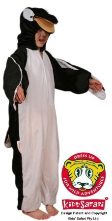 Safari Plush Costume Penguin- Large