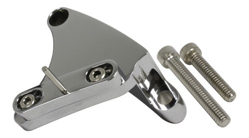 (Compatible/Replacement for Chevy Small Block 283-305-327-350-400 Billet Aluminum Timing Tab - Chrome)