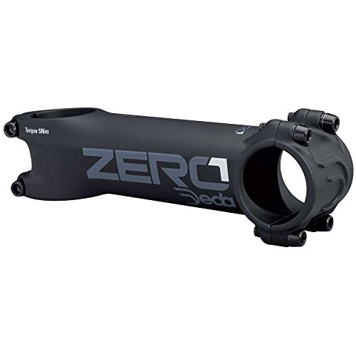 Deda Zero 1 2017 Black on Black Oversize 31.7mm Handlebar Stem - 80mm