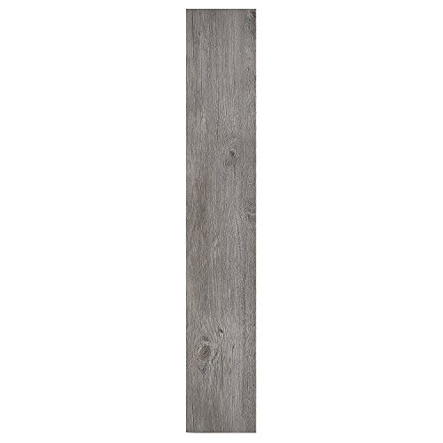 Achim Home Furnishings VFP1.2GO60 Achim Home Imports Nexus Light Grey Oak 6x36 Self Adhesive Vinyl Floor Planks Planks/90 Sq Ft, 60 Pack ()