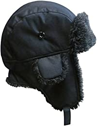 Big And Little Boys and Baby Taslon Trapper Winter Hat with Large Flaps