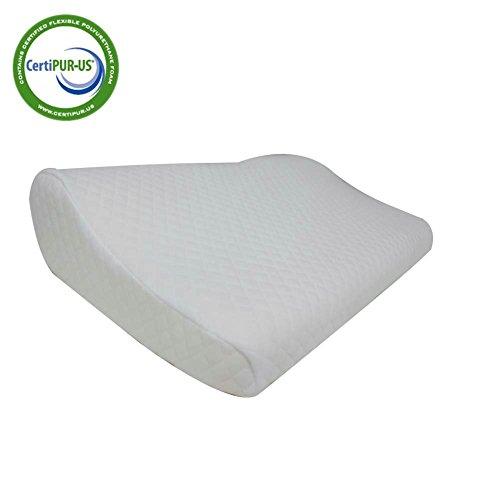 fy living cervical contour memory foam pillow for neck