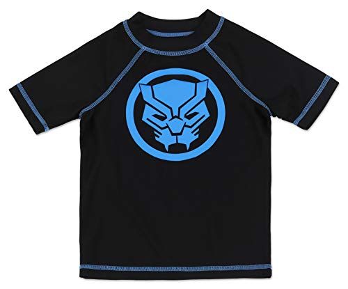 Dreamwave Boys Black Panther Rash Guard 5/6 ()