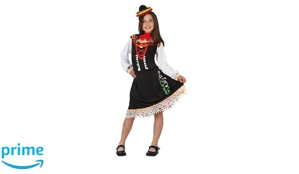 Atosa-23634 Disfraz Mariachi, color negro, 5 a 6 años (23634 ...