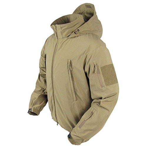 Condor SUMMIT Zero Men's Lightweight Soft Shell Jacket - 609 (XL, Tan)