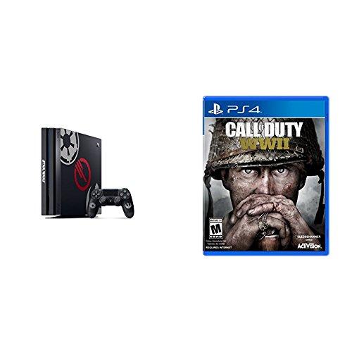 PlayStation 4 Pro 1 TB Star Wars Battlefront II Bundle + Call of Duty: WWII - PlayStation 4 Standard Edition (Playstation 4 Pro Star Wars Battlefront 2 Bundle)
