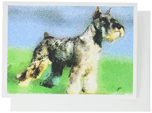 (Standard Schnauzer Note Cards- Set of 6 with Envelopes by)