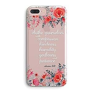 Amazon.com: Funda para iPhone 7 Plus/iPhone 8 Plus, flores ...