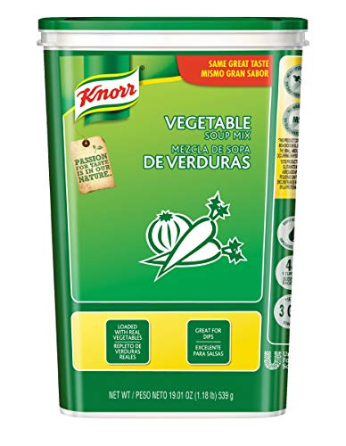 Knorr Vegetable Soup Mix, 19.01 Ounce - 6 per pack -- 1 each. ()