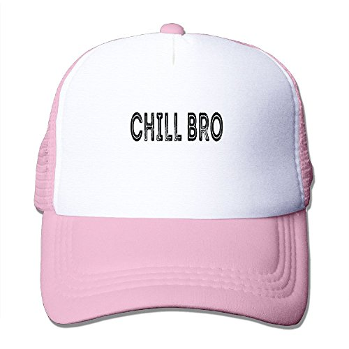 CHAO STAR Chill Bro Summer Passion Movement Summer Fashion Mesh Baseball Cap Adjustable Trucker Hats For Outdoor Sport - Chill Hats Bro