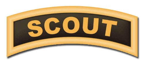 MilitaryBest United States Army Scout Tab Decal Sticker 3.8