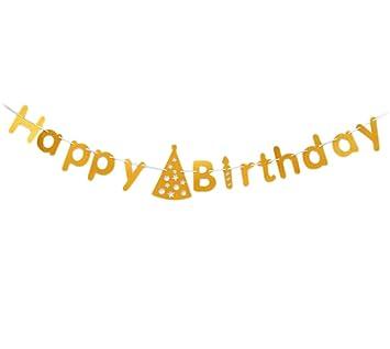Da. WA (letras del alfabeto colorido Banner Feliz cumpleaños ...