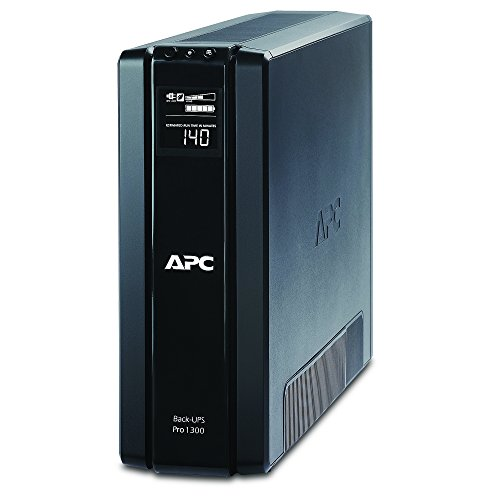 APC Back-UPS Pro 1300VA UPS Battery Backup & Surge Protector (BR1300G) (Apc Back Ups Pro 500 Replacement Battery)