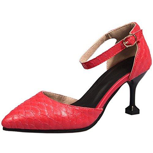Zanpa Da Scarpe Donna Estive Rosso D Orsay wP8qpwgx