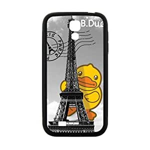 Happy Eiffel Tower Lovely B.Duck fashion cell phone case for samsung galaxy s4