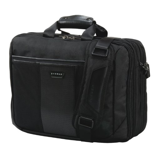 Everki Versa Premium Checkpoint Friendly Laptop Bag - Briefcase, Upto 17.3-Inch (EKB427BK17) by Everki