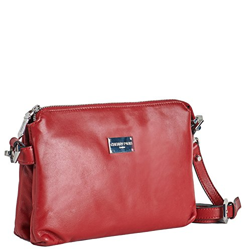 Sac paris pochette Cherry femme YORK bordeaux NEW OZttqxdvw