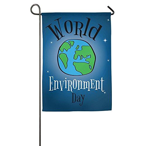 POIUYT FLAG Garden Flag - World Environment Day Unique Decor