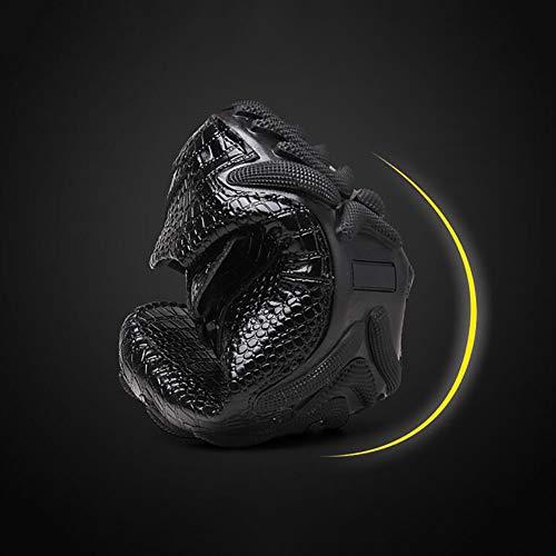 Slip Da Pelle Comfort Autunno Nero Ecopelle Resistant Autunno In Marrone Pelle Uomo In Black Scarpe Mocassini gBxqPP
