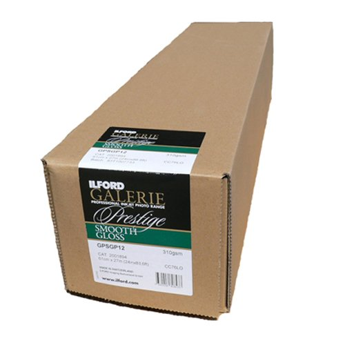 ILFORD 2001894 GALERIE Prestige Smooth Gloss - 24 Inches x 88.5 Feet Roll by Ilford