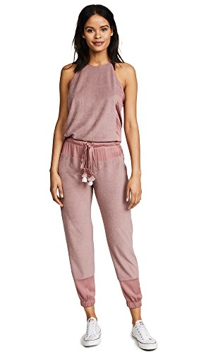 Young Diego (Young Fabulous & Broke Women's Diego Jumpsuit, Mauve, XS)