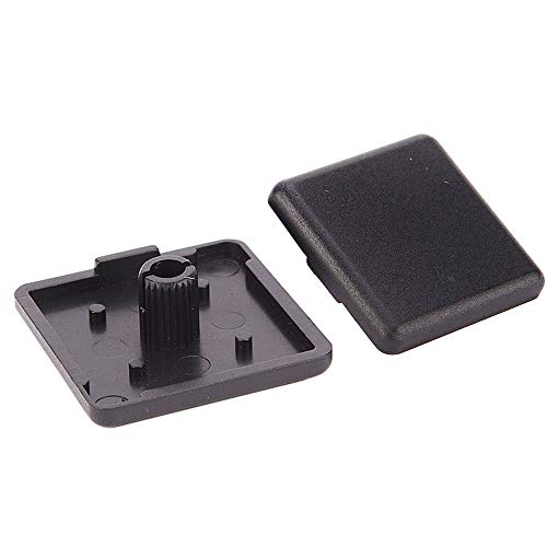 Boeray ABS Plastic End Cap Cover for Aluminum Extrusion Profile 4040 Series 40x40mm Pack of 80
