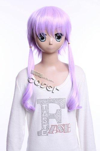 CosplayerWorld Vocaloid Yuzuki Yukari Wig 63CM 25inch CosplayWig Manga Anime Wig Party Wigs GH489A