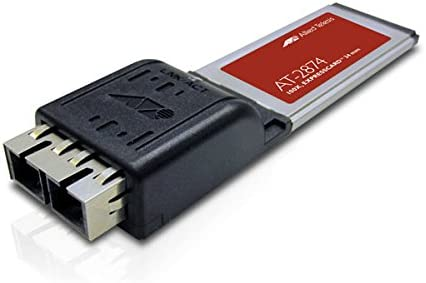 Allied Telesys Gigabit ExpressCard//34 with SC Connector AT-2874SX//SC-901