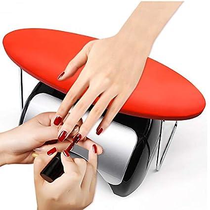 Amazon.com: Reposabrazos para uñas, de microfibra, de piel ...
