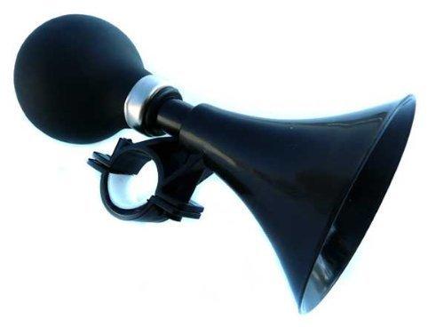 Fahrradglocke Glocke Fahrradklingel Fahrradhupe in schwarz (hupe-S)