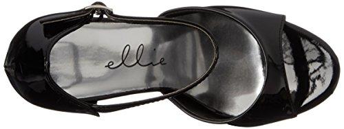 Ellie Shoes Womens 652-bambi Vestito Sandalo Nero
