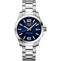Longines Conquest Blue Dial Stainless Steel Automatic Mens Watch L37764996